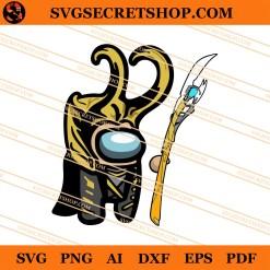 Loki Among Us SVG