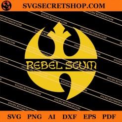 Rebel Scum Wu Tang SVG