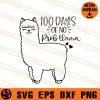 100 days Of No Prob Llama SVG