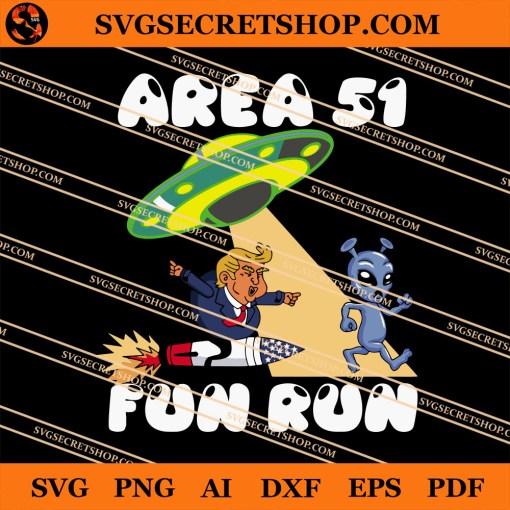 Area 51 Fun Run SVG
