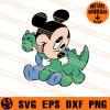 Baby Mickey SVG