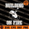 Building On Fire SVG