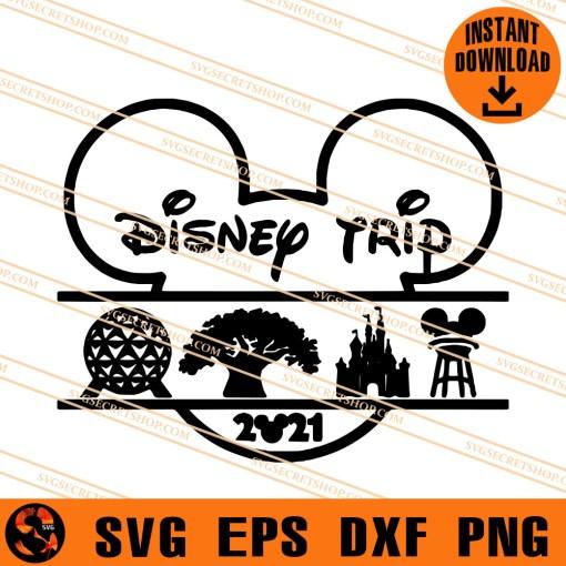 Disney Trip 2021 SVG