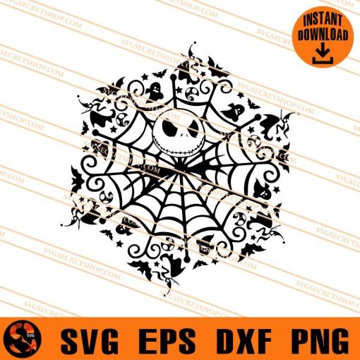Jack spiderweb Halloween SVG