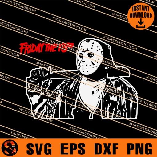 Jason Friday The 13th SVG