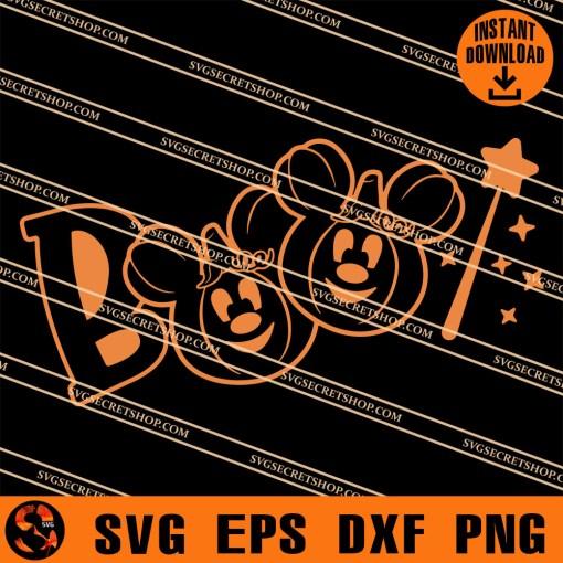 Mickey Boo SVG