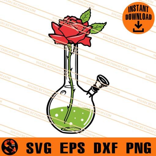 Rose Bong SVG