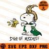 Snoopy Dog Of Mischief SVG