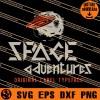 Space Adventures Original Label SVG