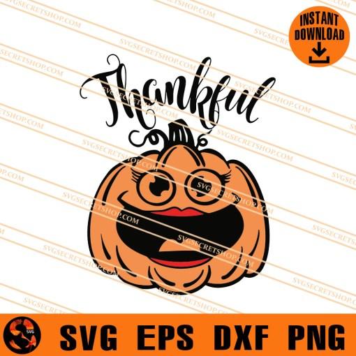 Thankful Pumpkin SVG