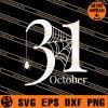 31 October SVG