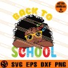 Back To School Girl SVG