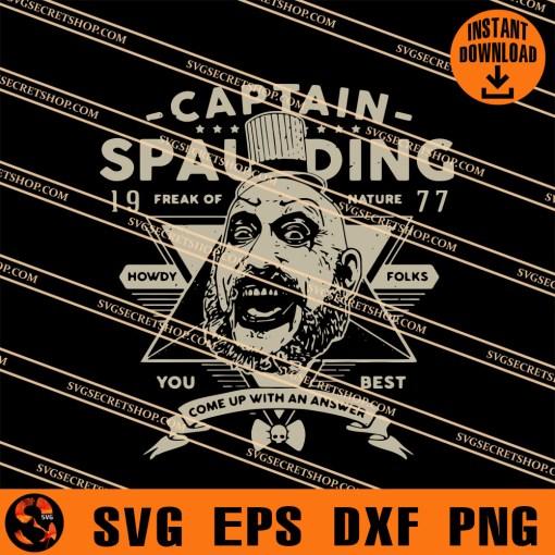 Captain Spaulding SVG