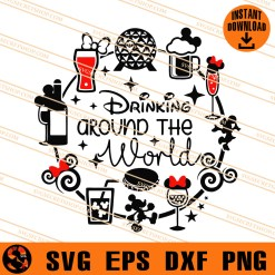 Drinking Around The World SVG