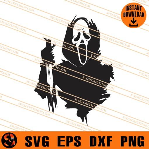 Ghostface Scream SVG