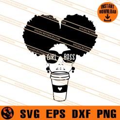 Girl Boss Coffee SVG