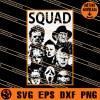 Horror squad SVG