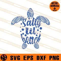 Salty lil beach SVG