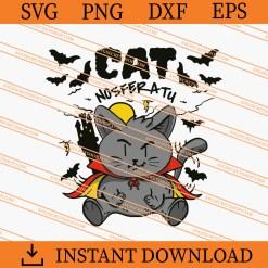 Spooky Cat SVG