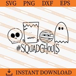 Squad Ghouls SVG