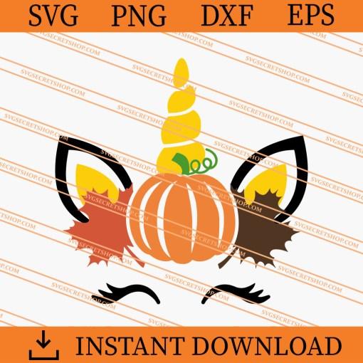 Autumn Unicorn SVG