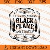 Black Flame Candle Company SVG