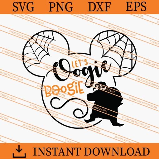 Lets Oogie Boogie SVG