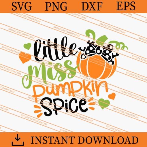 Little Miss Pumpkin Spice SVG