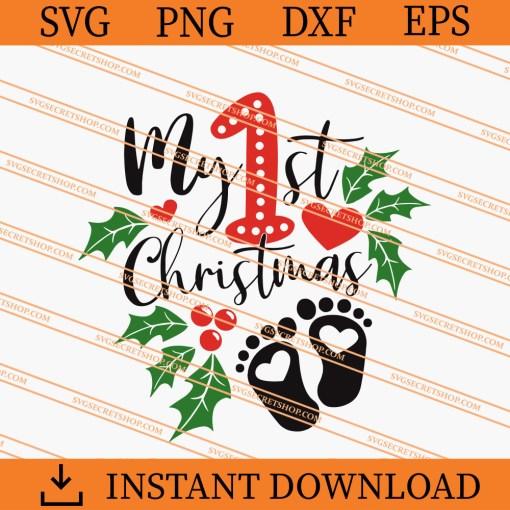 My 1st Christmas SVG