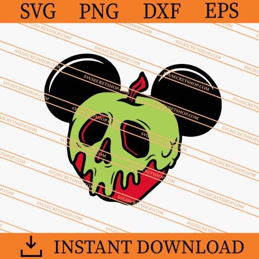 Poison Apple Ears SVG
