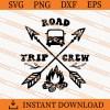 Road trip crew SVG