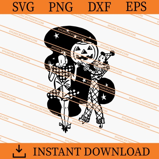 Vintage Halloween Pumpkin SVG