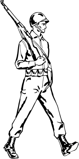 Svg Gt Soldier Standing War Guns Free Svg Image Amp Icon