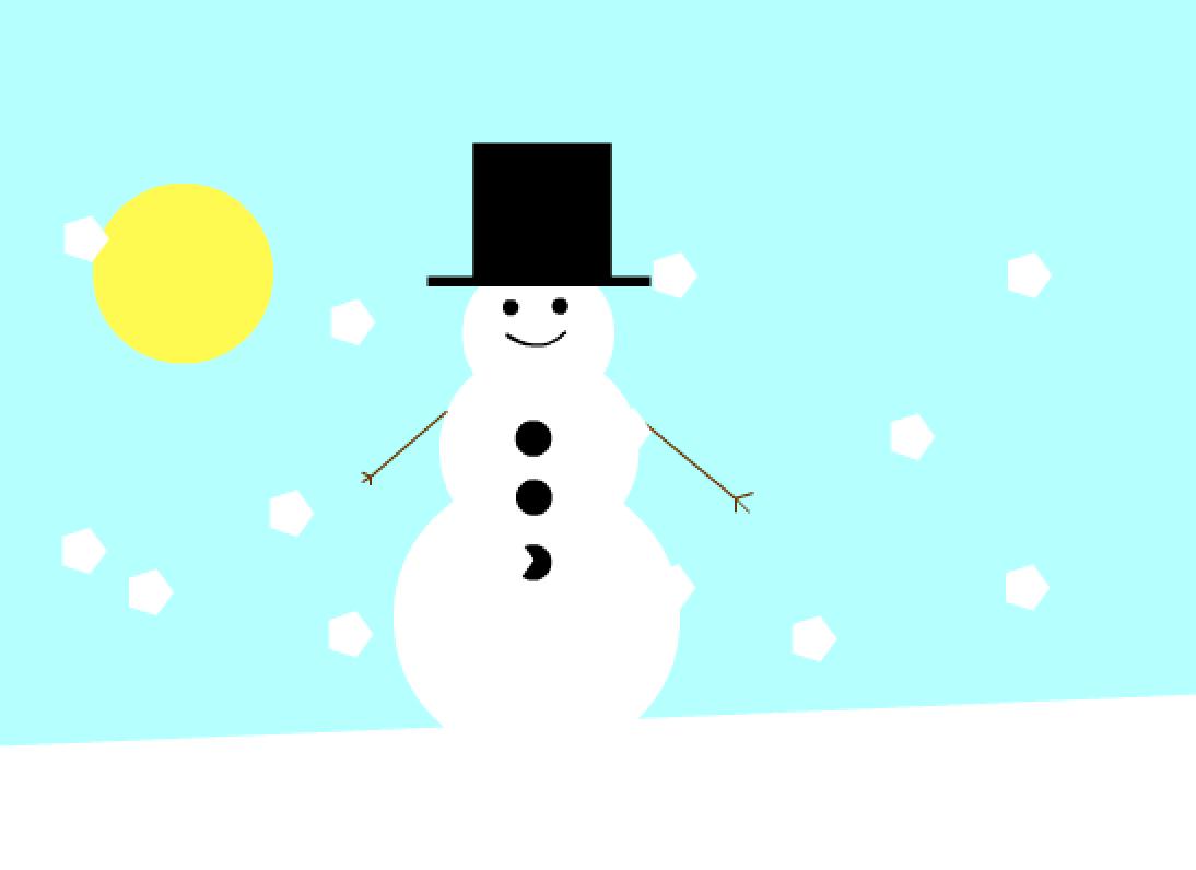 animasjon snømannen