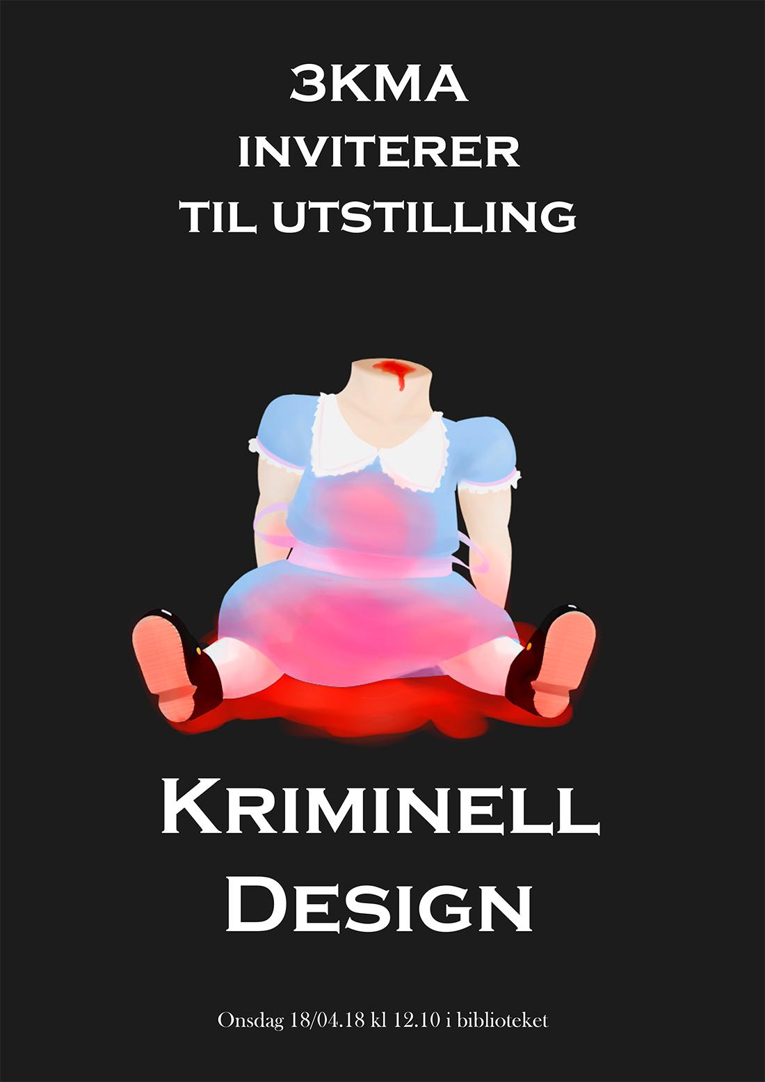 Plakat til utstilling