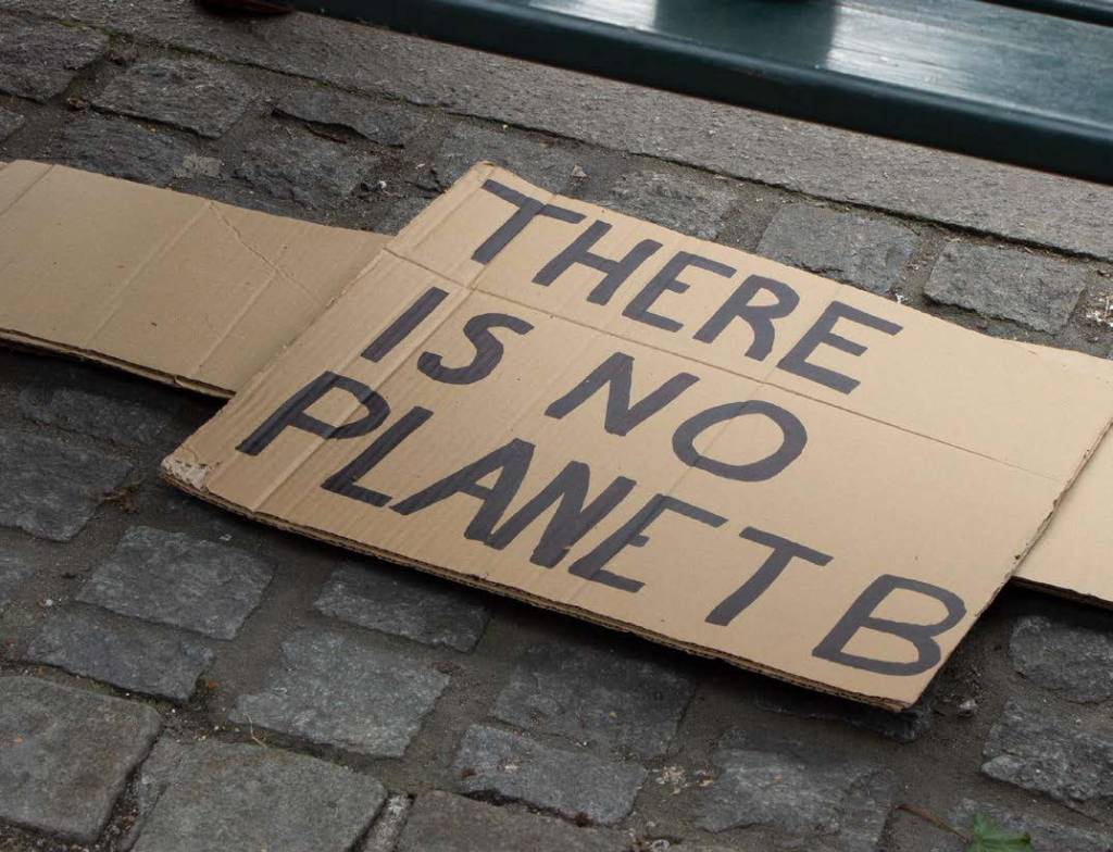 plakat,there_is_no_planet_B, klimastreik,parole,demonstrasjon,oslo