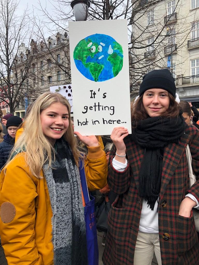 klimastreik,protest,ungdom,demonstrasjon,oslo