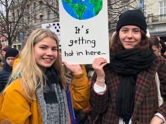 klimastreik,demonstrasjon,oslo,ungdommer,mediefag,mksørumsand