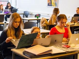 elever,porteføljer, fotografi
