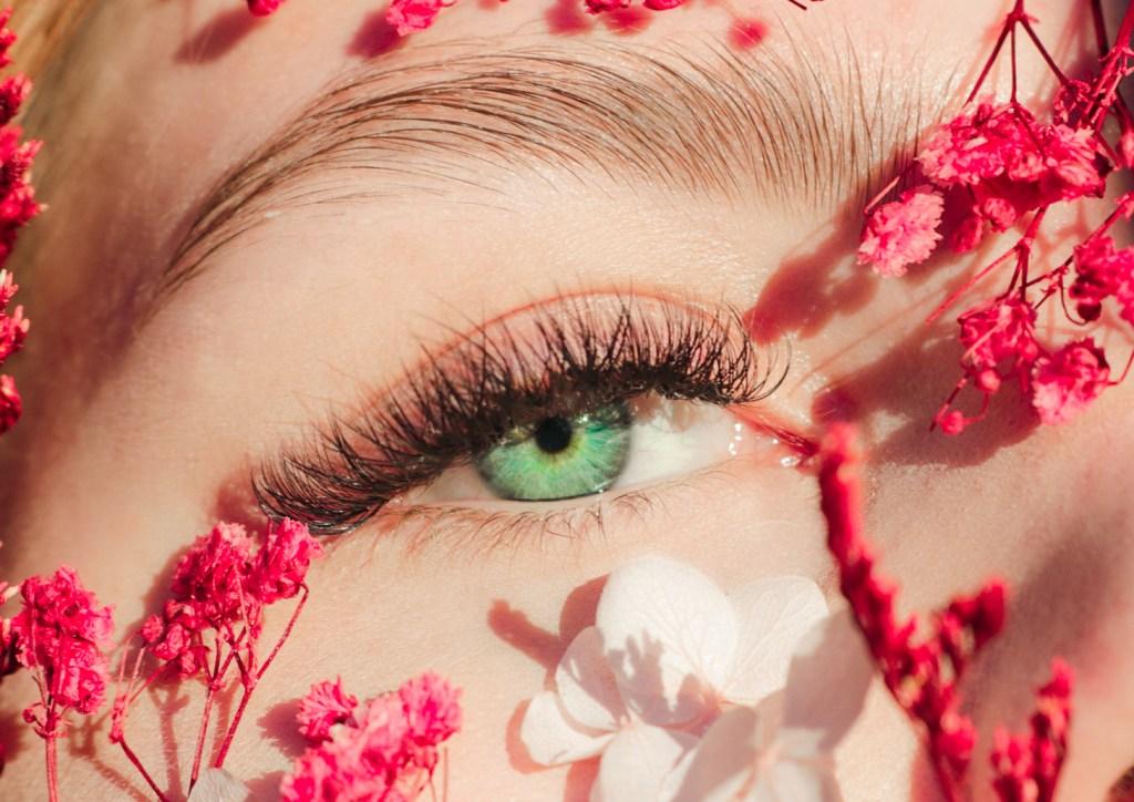 foto,øye,blomster,mksørumsand