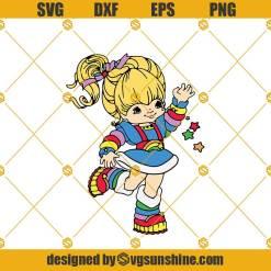 Rainbow Brite Svg, Magical Girl Svg,