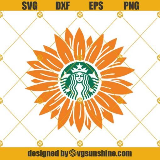 Sunflower Starbucks Svg, Sunflower Svg, Starbucks Cup Svg, Starbucks Svg