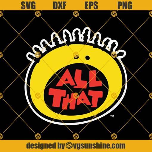 All That Logo Svg, Nick Rewind All That Logo Svg