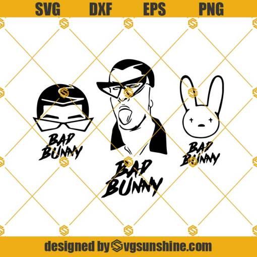 Bad Bunny Bundle Svg, Bad Bunny Svg, Bundle Svg