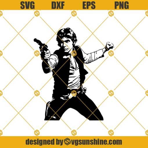 Han Solo Svg, Star Wars Svg