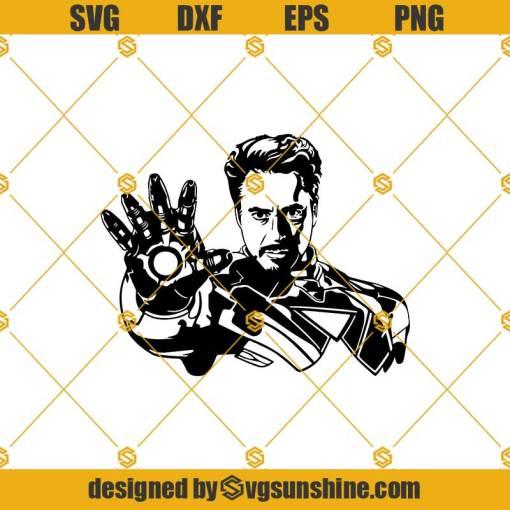 Iron man Svg, Tony Stark Svg, Marvel Svg