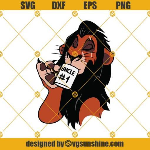 Scar Uncle 1 The Lion King Svg, Lion King Svg, Scar Svg
