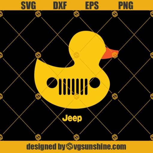 Duck Duck Jeep Grille Svg, Duck Svg, Jeep Svg