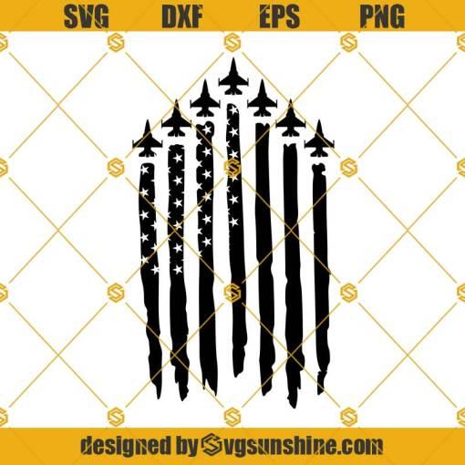 Air Force Fighter Jet Flag svg, Air Force SVG, Fighter Jet SVG, Military Plane SVG, F22 raptor svg, F16 svg, Pilot Svg