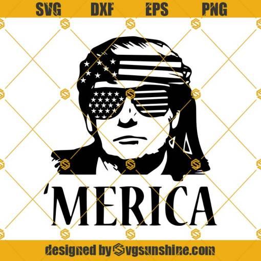 Trump Merica SVG, Trump SVG